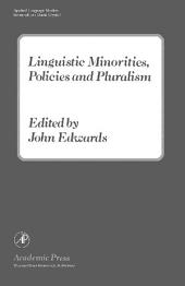 Linguistic Minorities, Policies and Pluralism: Applied Language Studies