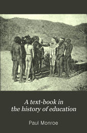 A Text-book in the History of Education