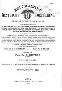 Zeitschrift f  r   rztliche Fortbildung PDF
