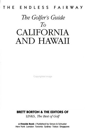 A Golfer's Guide to California and Hawaii