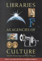 The Library as an Agency of Culture PDF