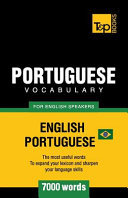 Portuguese Vocabulary for English Speakers   English Portuguese   7000 Words  Brazilian Portuguese PDF