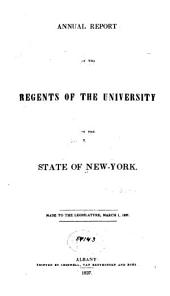 Annual Report of the Regents: Volumes 50-51