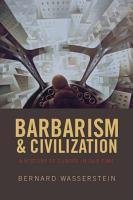 Barbarism and Civilization PDF