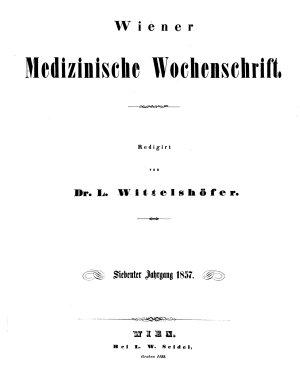 Wiener medizinische Wochenschrift PDF