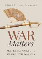 War Matters PDF