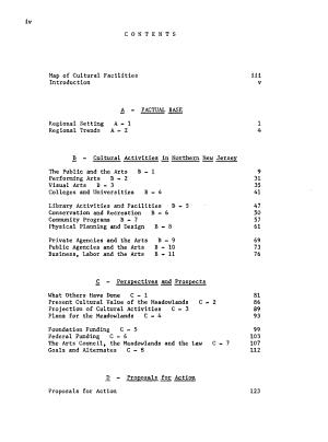 Hackensack Meadowlands Cultural  Artistic  Esthetic Potential Report PDF
