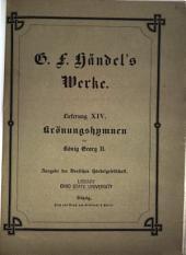 Georg Friedrich Händel's Werke: Volume 14