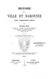 Histoire de la ville et baronnie de Bressuire