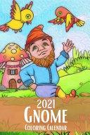 2021 Gnome Coloring Calendar