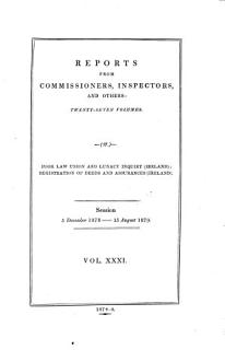 Reports from Commissioners Book