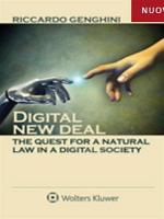 Digital new deal  the quest for a natural law in a digital society PDF