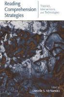 Reading Comprehension Strategies PDF