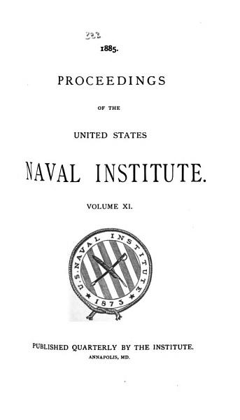 Download PROCEEDINGS OF THE UNITED STATES NAVAL INSTITUTE  Book