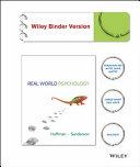 Real World Psychology Binder Ready Version High School Edition