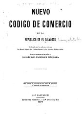 Nuevo código de comercio de la República de El Salvador