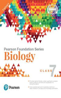 Pearson Foundation Series Biology Class 7 Book