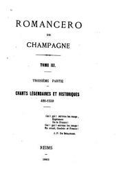 Romancero de Champagne: Volume22