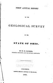 Annual Report on the Geological Survey of the State of Ohio: 1837
