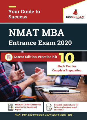 NMAT MBA Entrance Exam 2020   10 Full length Mock Test