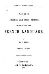 Ahn's Practical and Easy Method of Learning the French Language