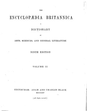 The Encyclopaedia Britannica a Dictionary of Arts  Sciences  and General Litterature PDF
