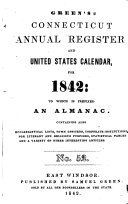 Green's Connecticut Annual Register and United States Calendar