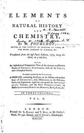 Elements of Natural History and Chemistry: Volume 2