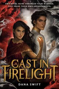 Cast in Firelight Book