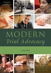 Modern Trial Advocacy: Canada