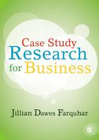 Case Study Research for Business PDF
