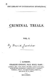 Criminal Trials ...