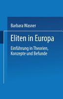 Eliten in Europa PDF