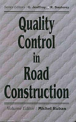 Quality Control in Road Construction PDF