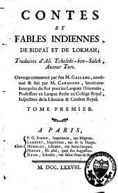 Contes et fables indiennes: Volume1