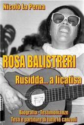 Rosa Balistreri - Rusidda... a licatisi