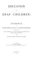 Education of Deaf Children PDF