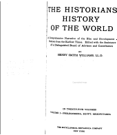 The Historians' History of the World: A Comprehensive Narrative of the Rise and Development of Nations from the Earliest Times, Volumes 1-2