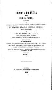Collecção de monumentos ineditos para a historia das conquistas dos Portuguezes, em Africa, Asia e America: ser., t.1-4. Correa, G. Lendas das India. (8 v.)