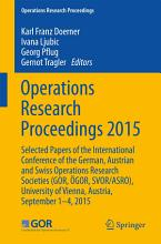 Operations Research Proceedings 2015 PDF