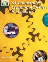 61 Cooperative Learning Activities In Algebra 1 Book PDF