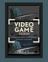 Video Game Design PDF