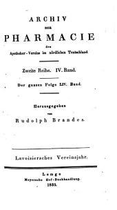 Archiv Der Pharmazie: Chemistry in Life Sciences, Volume 4