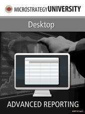 Advanced Reporting for MicroStrategy Desktop