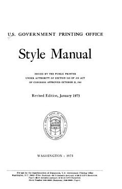 Style Manual PDF