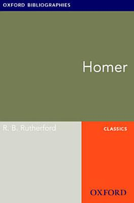 Homer  Oxford Bibliographies Online Research Guide PDF