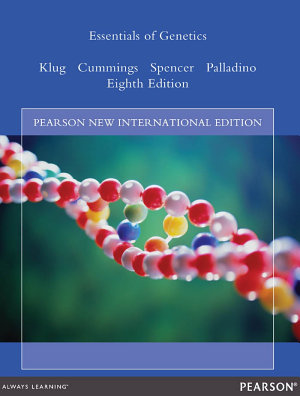 Essentials of Genetics  Pearson New International Edition
