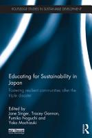 Educating for Sustainability in Japan PDF