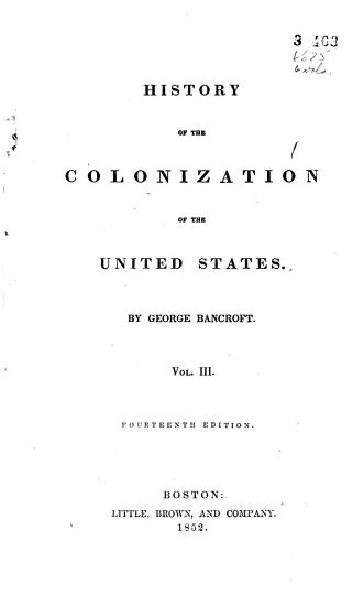A History of the United States  History of the colonization of the United States PDF
