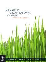 Managing Organisational Change  Google eBook PDF